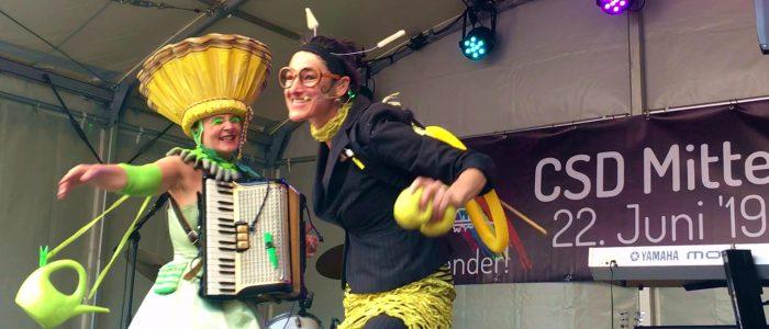 Bien & Blum live on Stage CSD Marburg