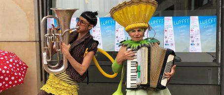Bien und Blum beim Eingemeindungsfest in Ingelheim 2019
